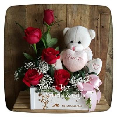 Plush & Flowers