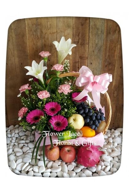 Flowers & Fruits Basket 004