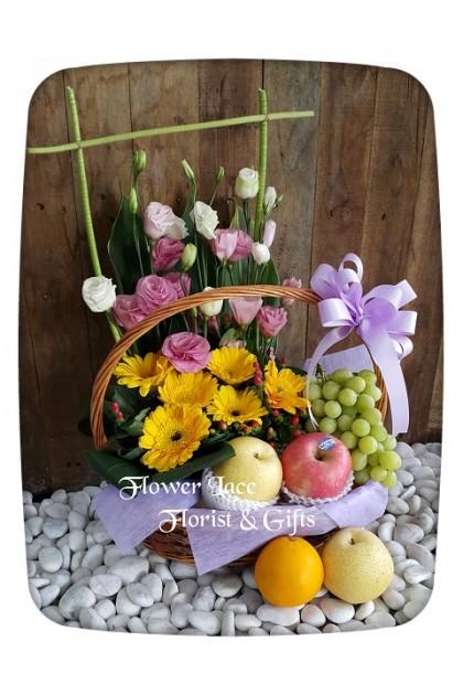 Flowers & Fruits Basket 005