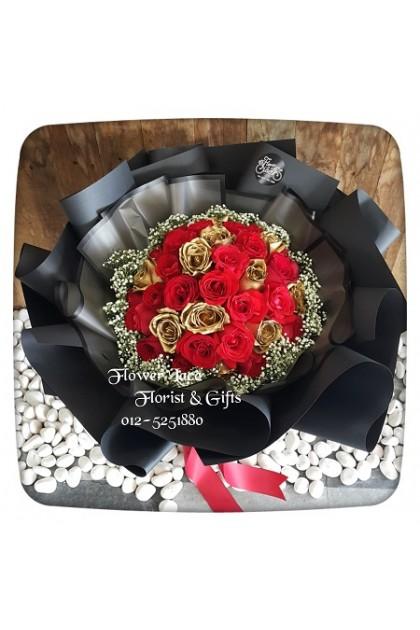 Valentine's Hand Bouquet 008