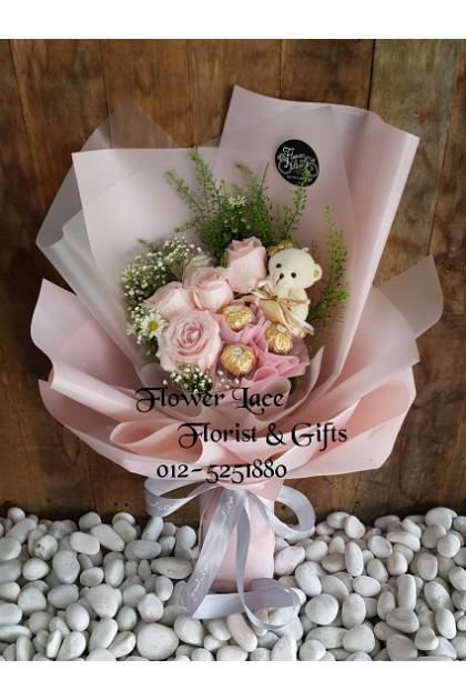 Valentine's Chocolate Bouquet 015