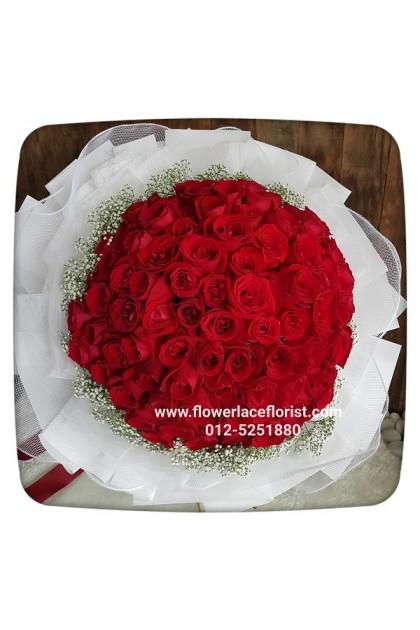 Rose Hand Bouquet 118