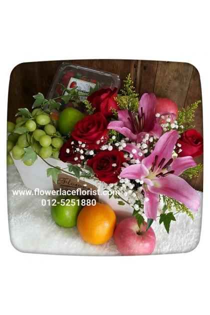 Flowers & Fruits Basket 009