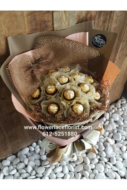 Valentine's Chocolate Bouquet 005