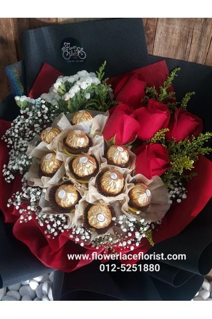 Valentine's Chocolate Bouquet 011